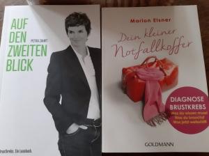 Bücher zum Thema Brustkrebs, die mir eine Freundin einfach so geschenkt hat