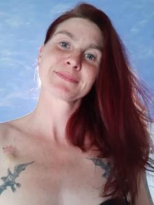 letztes Bild mit meinen langen Haaren am 4. Aug 2019