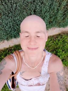 ich selbst während der Chemotherapie
