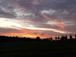 Sonnenuntergang in Laubach