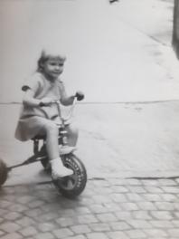 Maria im Jahre 1990