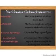 Prinzipien des Kinderrechtsansatzes