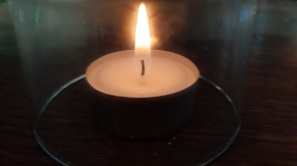 Kerze im Glas3